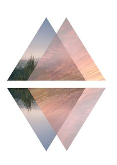 Wanderer Print 5  by RISINGgoods #design #triangle