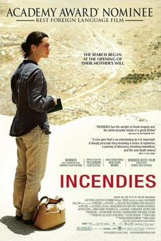 Incendies - movie of This is a story you have NEVER heard! May Movie, Movie List, Great Films, Good Movies, French Film Festival, Denis Villeneuve, Film Pictures, French Movies, Movie Posters