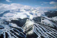 Breckenridge, Colorado...hoping to get back to this area very soon to ditch the skis and or make my first attempt at snowboarding.
