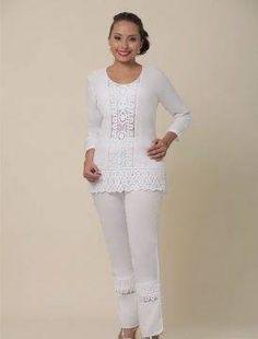 CONJUNTOS Y VESTIDOS - PRIMAVERAL Bordados y Accesorios Peplum, Romantic, Women, Style, Fashion, Outfits, White Blouses, Sleeveless Tops, Short Dresses