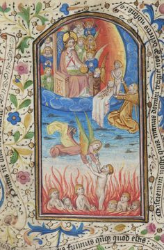 Book of Hours, M.387 fol. 143v - Images from Medieval and Renaissance Manuscripts - The Morgan Library & Museum
