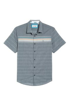 b7dcb7878 ORIGINAL PENGUIN ENGINEERED STRIPE WOVEN SHIRT.  originalpenguin  cloth