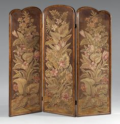 1920 French Art Deco screen - Thierry de Maigret