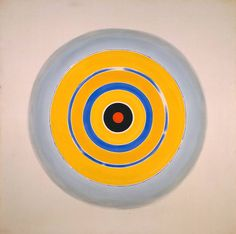 Droogte ~ 1962 ~ Acryl op doek ~ x cm. ~ Tate Gallery, Londen ~ © The estate of Kenneth Noland /VAGA, New York/DACS, London 2015 Frank Stella, Arthur Dove, Morris Louis, Kenneth Noland, Modern Art Styles, Tate Gallery, Digital Museum, Popular Art, Colour Field