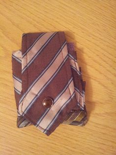 Wallet made from a tie. www.junksmith.co.uk