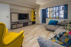 Spatiu modern amenajat intr-un apartament din Ploiesti- Inspiratie in amenajarea casei - www.povesteacasei.ro