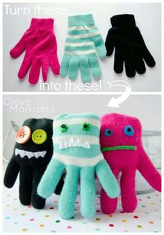 Glove monsters!