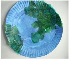 Preschool Crafts for Kids*: Earth Day Paper Plate Craft-could work for the solar system craft Earth Craft, Earth Day Crafts, Earth Day Activities, Art Activities, Paper Plate Crafts, Paper Plates, Craft Projects For Kids, Art Projects, Earth Day Projects