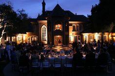 Night wedding, Ledson Winery in Sonoma.