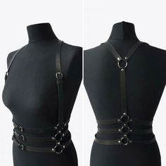how to make a leather harness