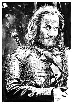 Game of Thrones - Thoros of Myr by Dave Stokes *