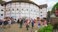 This is a picture of The Globe Theatre opening. The Globe Theatre opens from a. Oh The Places You'll Go, Cool Places To Visit, Globe Theater, Virtual Field Trips, London Theatre, Things To Do In London, London Travel, London England, At Least
