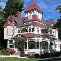 Eras of Elegance - Victorian Architecture: Greek Revival, Gothic Revival, Italianate, Second Empire, Stick-Eastlake, and Queen Anne Styles