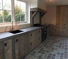 barnwood landelijke keuken van Restyle XL