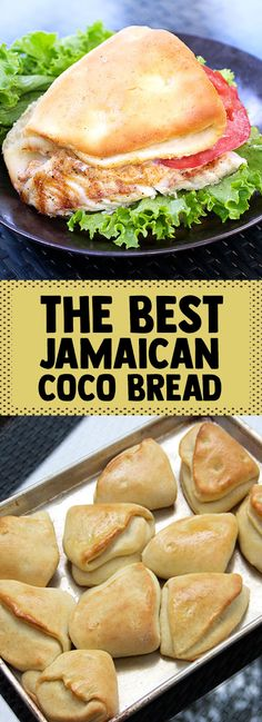 This Jamaican Coco Bread is perfect for sandwiches and especially good with a simple piece of grilled fish and some spicy mayo. Jamaican Cuisine, Jamaican Dishes, Jamaican Food Recipes, Jamaican Coco Bread Recipe, Carribean Food, Caribbean Recipes, Jamican Recipes, Jamaican Breakfast, Jamaica Food