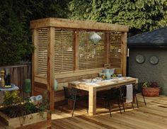 Pergola For Sale Cheap Key: 6327178847 Backyard Fences, Backyard Landscaping, Backyard Ideas, Garden Ideas, Outdoor Rooms, Outdoor Living, Outdoor Decor, Outdoor Ideas, Garden Bench Plans