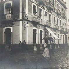 Calle sagasta (marina) esquina con calle zafra (avda. Portugal) Septiembre de 1906