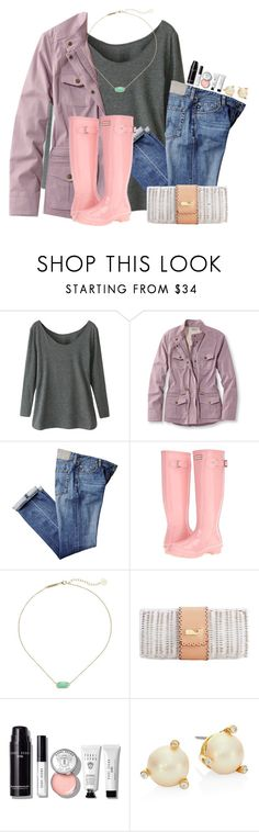 """""""RTD and give me your opinions!!!"""" by flroasburn ❤ liked on Polyvore featuring L.L.Bean, Hunter, Kendra Scott, Bobbi Brown Cosmetics, Kate Spade and plus size clothing"""