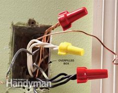 Too many wires stuffed into a box can be potentially dangerous. Check out this tip and others on common electrical mistakes.
