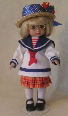 Mary Engelbreit Ann Estelle Classic Sailor Tonner Doll 10 inches  #DollswithClothingAccessories