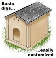 Building a double dog house   Crafty   Pinterest   Dog houses, Dog ...