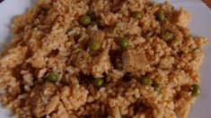 egyszerű bácskai rizseshús Fried Rice, Fries, Food And Drink, Ethnic Recipes, Nasi Goreng