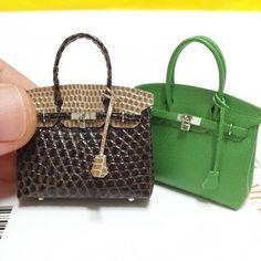 Miniature bag♡ ♡ My Dollhouse