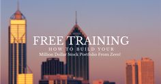 """Reserve your seat now for the next session live with Dr. Scott Brown entitled """"How to Build Your Million Dollar Stock Portfolio From Zero Investing In Stocks, Stock Investing, Stock Portfolio, Roth Ira, Free Training, Stock Market, Online Marketing, Financial Success"""