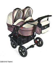 Otroški vozički za dvojčke Dorjan DS5 Twinni