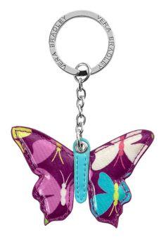 Butterfly Keychain in Flutterby, $12 | Vera Bradley