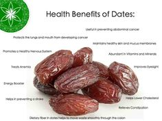 Dates are one of the sweetest fruits and come in different varieties. Although dates can be eaten fresh, the fruit is very often dried, resembling raisins or plums. Whether fresh or dry, the health benefits of dates are abundant. www.holisticheights.com #dates #holisticheights #healthyisalifestyle