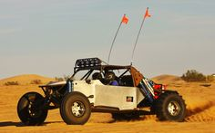 My desert dynamics chassis sandcar I built. Mid engine 406 small block chevy, powerglide and a custom IRS differential. This was maiden trip. Off Roaders, Sand Rail, Sand Toys, Go Kart, Dream Cars, 4x4, Chevy, Monster Trucks, Engineering