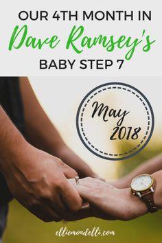 Monthly Savings Report: May 2018 – Ellie Mondelli Savings Planner, Budget Planner, Dave Ramsey Envelope System, Online Job Opportunities, Total Money Makeover, Saving Money, Saving Tips, Debt Payoff, Online Jobs