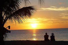Photo: Romantic #Vacation #Caribbean Sunset http://caribbeantrading.com/caribbean-sunsets/#