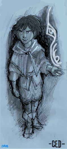 Wizard of Earthsea: Young Ged by Isaia.deviantart.com on @deviantART