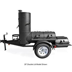 If your gatherings and backyard BBQ's tend to be Texas-sized, look no further than the trailer-mounted Pearsall Smoker. This pit is identical to our sta. Bbq Smoker Trailer, Bbq Pit Smoker, Fire Pit Grill, Fire Pits, Trailer Smokers, Barbecue Pit, Custom Bbq Grills, Custom Bbq Pits, Smoking Cooking