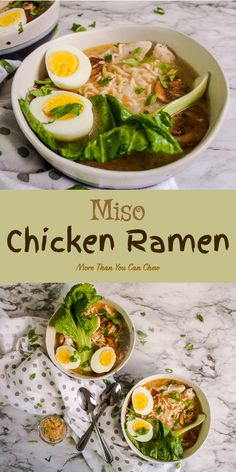 chicken ramen miso Miso Chicken RamenYou can find Ramen noodle recipes soup and more on our website Sopa Ramen, Ramen Soup, Ramen Miso, Sausage Recipes, Soup Recipes, Chicken Recipes, Cooking Recipes, Ramen Noodle Recipes, Clean Eating Snacks