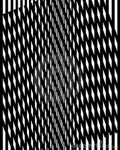 Op Art Vertical Moire Two Royalty Free Stock Images - Image: 5365689