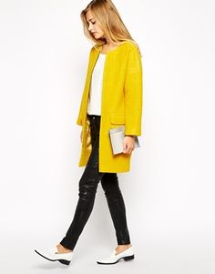 Enlarge Studio 4 London Cocoon Coat in Boiled Wool