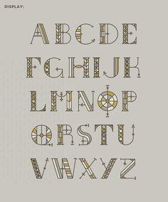 South Rose typography by Sydney Goldstein, via Behance #typography #SydneyGoldstein
