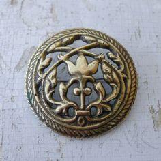 Solki-47 (Tuukkala), pronssi. Old Kalevala Koru bronze brooch.