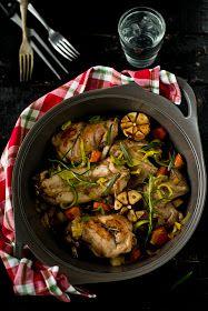 królik duszony w winie Kung Pao Chicken, Beef, Ethnic Recipes, Food, Meat, Essen, Meals, Yemek, Eten
