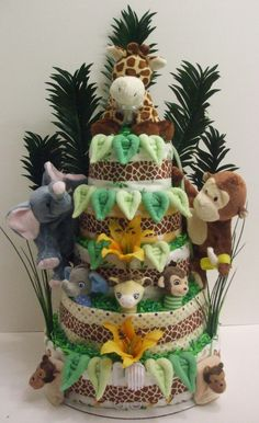 Custom Diaper Cakes and Baby Shower Gifts   Bountiful Baby Cakes and Bouquets