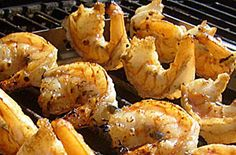 Honey Lime Grilled Shrimp