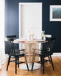 Gerald Black Dining Chairs via BHG Live Better influencer Jojotastic. #diningroom #breakfastnook #diningtable #diningchairs #diningchairset #diningroomstyle #diningroomdecor #breakfastnookstyle