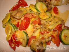 Zucchini Tomato Bake | The Sisters Cafe