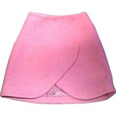 Carven pink mini-skirt