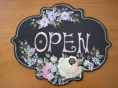 Decorative Paintings, Decorative Plates, Signs, Flowers, Home Decor, Paintings, Decoration Home, Room Decor, Shop Signs