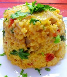Fittanyuka: Köles rizotto - Kaliforniai paprikával Diet Recipes, Vegetarian Recipes, Healthy Recipes, Crossfit Diet, Vegan Foods, Macaroni And Cheese, Healthy Lifestyle, Food And Drink, Favorite Recipes