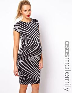 shopstyle.com: ASOS Maternity Exclusive T-Shirt Dress in Graphic Print